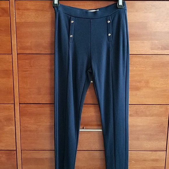 28157ae1d3 Zara Bottoms | Girls Navy Leggings | Poshmark